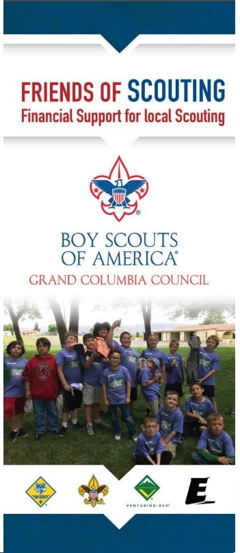 Friends of Scouting brochure image